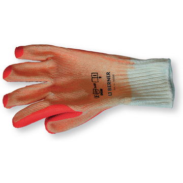 Gants de travail latex orange T9
